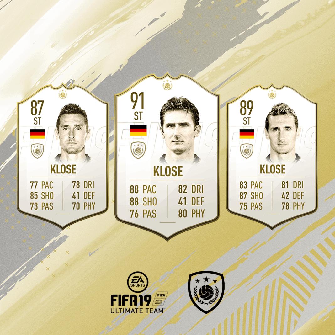 FIFA 19 Icon Miroslav Klose