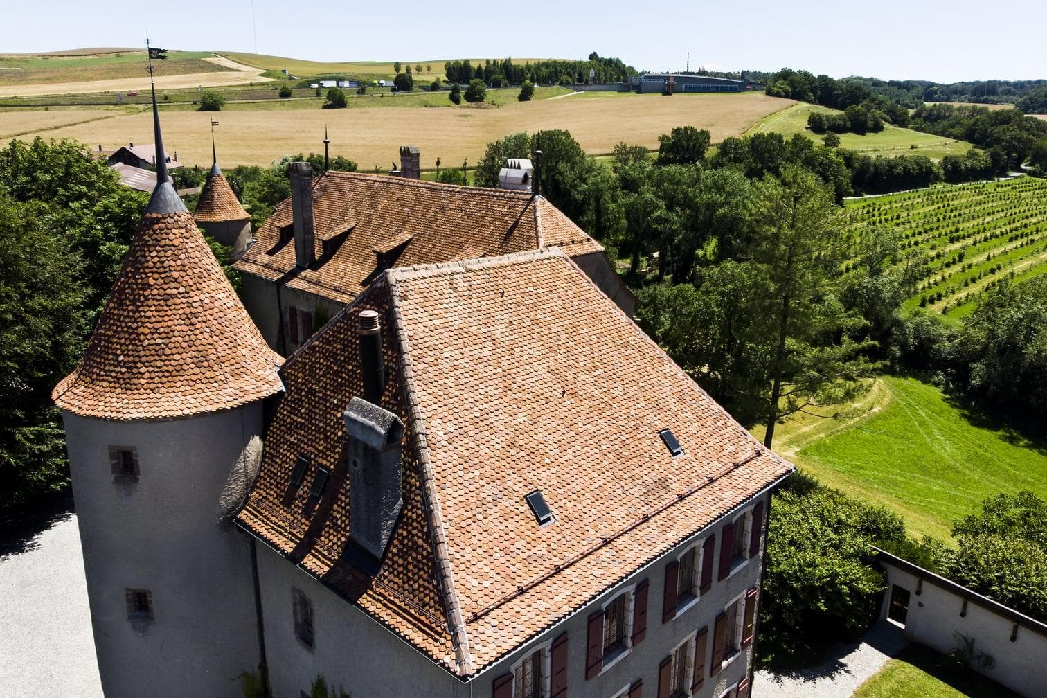<p>Das Schloss stammt aus dem 14. Jahrhundert