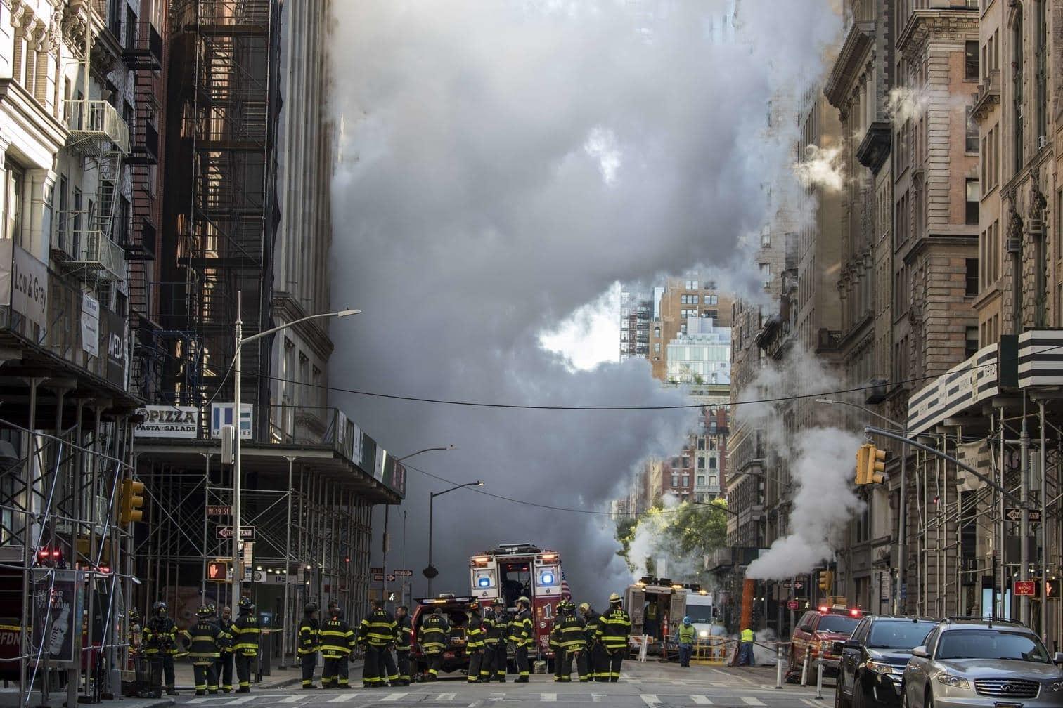 """<p>Fünf Menschen seien von herumfliegenden Gegenständen getroffen und """"sehr leicht verletzt"""" worden.</p> Foto: AFP"""