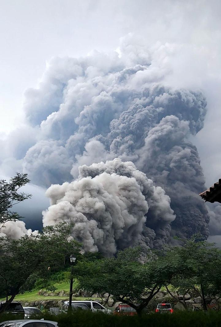 7 Millionen Menschen von dem Vulkanausbruch betroffen.&nbsp;</p> Foto: &nbsp;