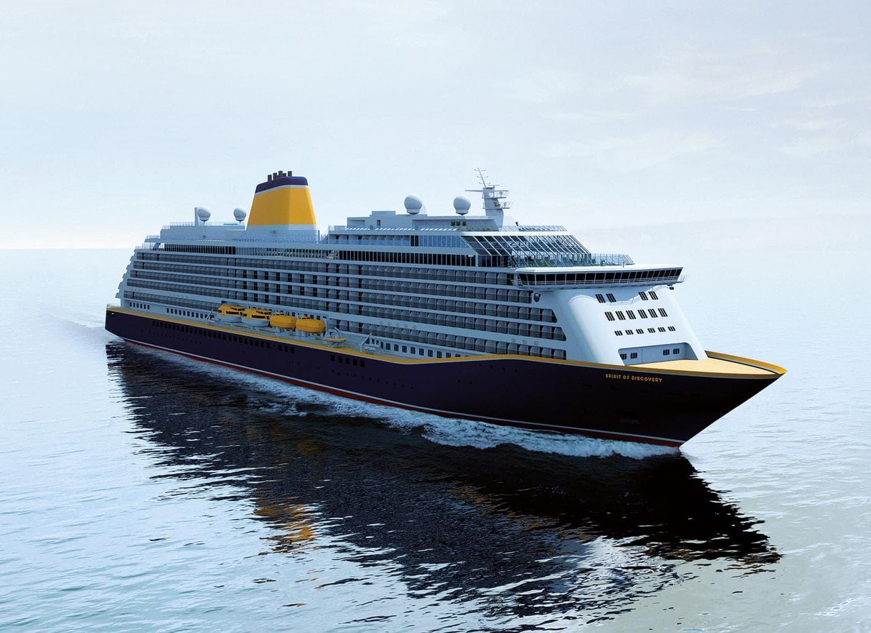 Kreuzfahrtschiff Saga Cruises Spirit of Discovery