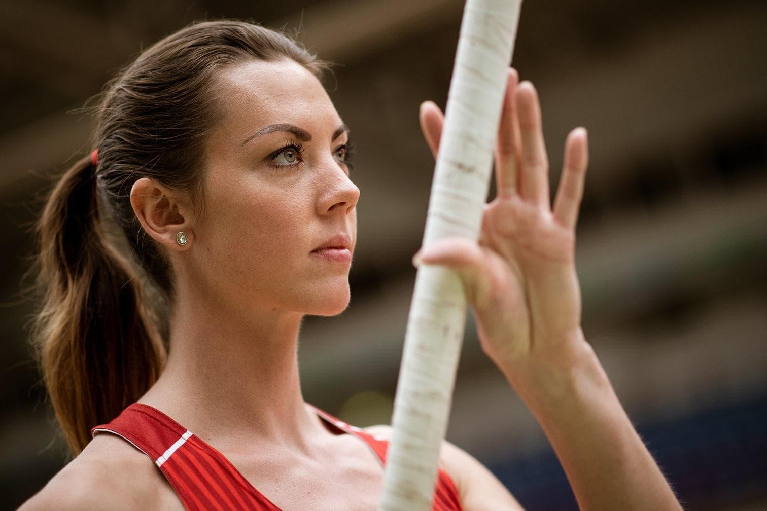 <p>Beim Leichtathletik-Meeting im nordrhein-westfälischen Soest überquerte die 27-Jährige als Zweite 4