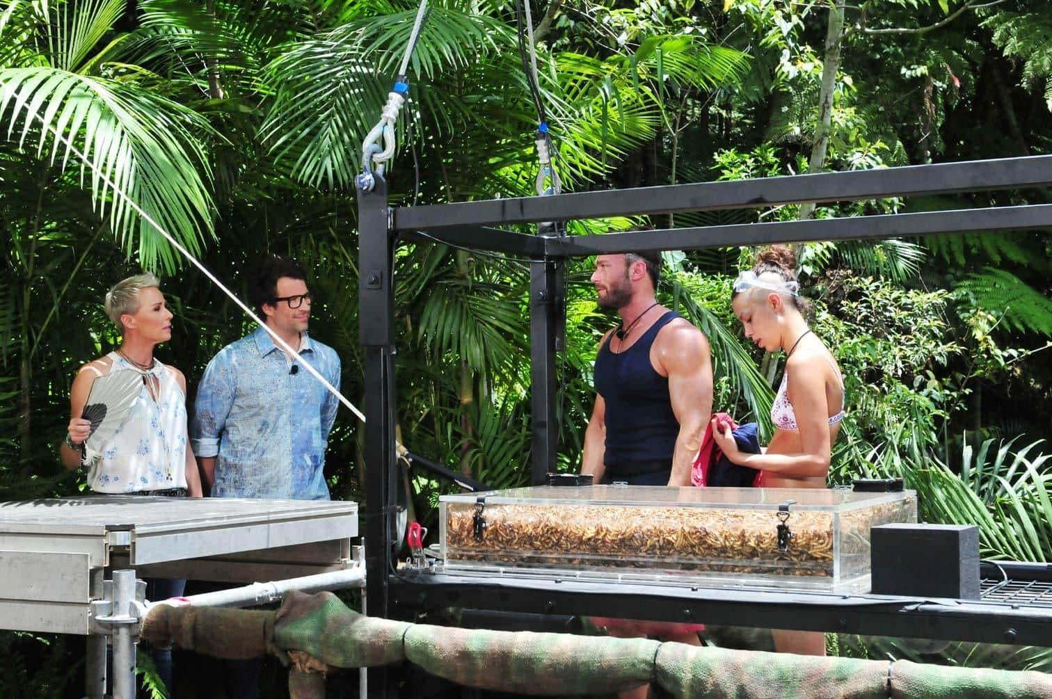 <p>Darauf hat der Dschungel-Coach und Camp-Guru nur gewartet! Nachdem Erzrivale Chris gestern mit Gisele in der Dschungelprüfung erfolgreich war