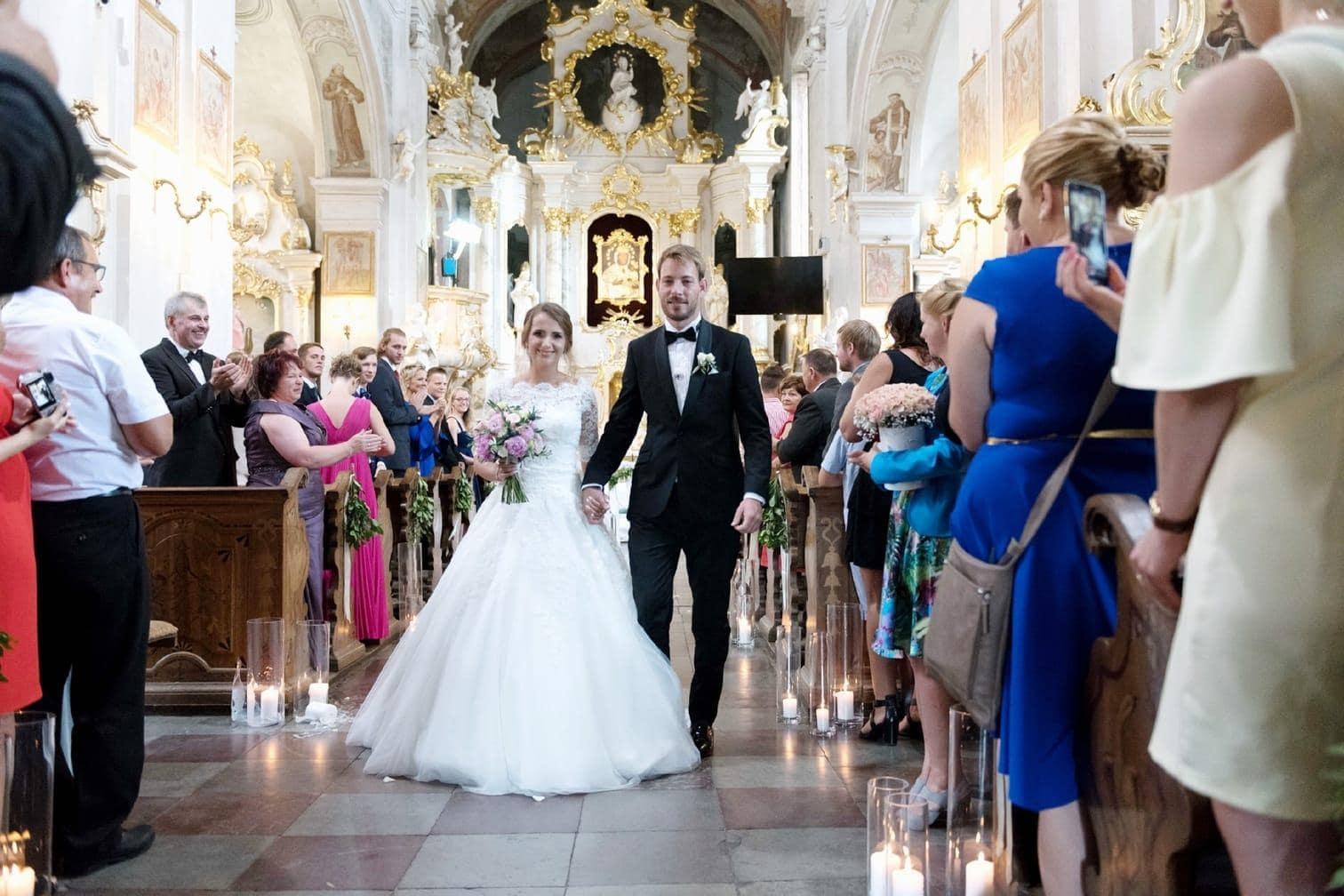 <p>Die kirchliche Trauung fand in Polen