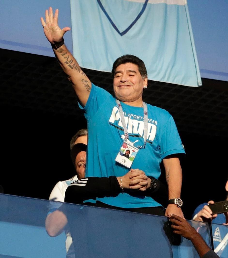 <p>In Argentinien ist sogar ein Stadion nach ihm benannt.</p> Foto: dpa